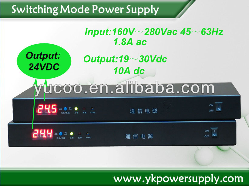 OEM/ODM dc to ac switching power supply 24V