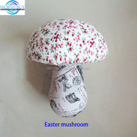 New product cute fabric mushroom Easter decoration China wholesale