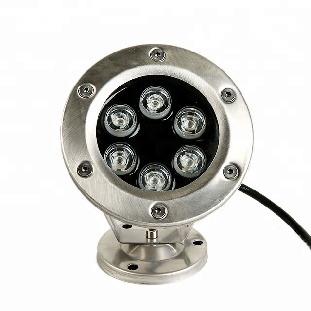 CE RoHS single color 6w stainless steel IP68 waterproof mini <strong>led</strong> fountain <strong>light</strong> underwater <strong>led</strong> <strong>light</strong> pool