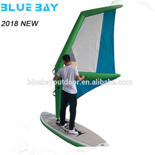 wholesale inflatable sailing sup windsurf sail sup board with sail