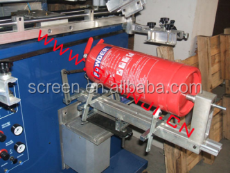 TX-600S Pneumatic cylindrical/conical screen printer