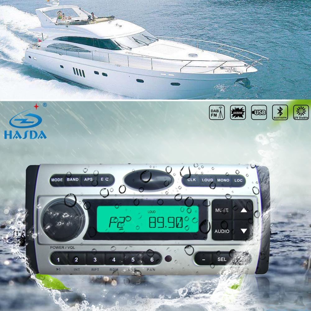 shenzhen supplier wholesale portable combination speaker sound box with FM radio MP3 Bluetooth for yacht fishing picnic party