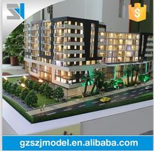 Customized scale villa house model with model car , architectural 3d maquette