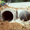 Dia 0.9m inflatable culvert rubber balloon for making concrete culvert