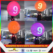 Inflatable LED Backpack Balloon,advertising balloon with Custom Logo Printing for Event