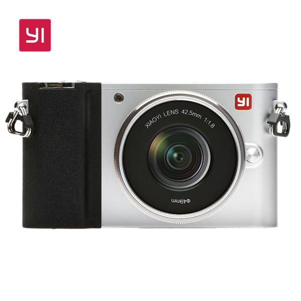 YI M1 Mirrorless Digital Camera with 12-40mm F3.5-5.6 Lens Ice Silver
