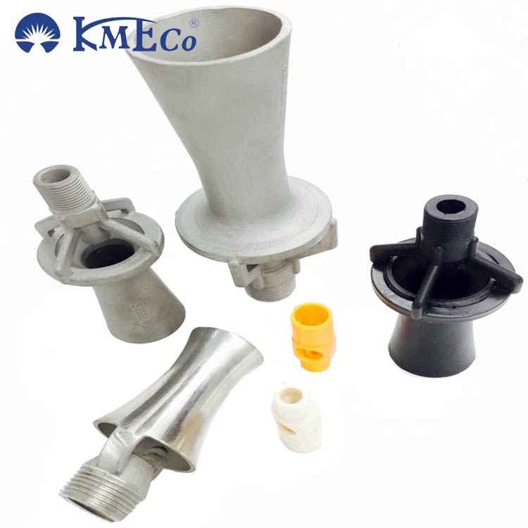 KMEC O-46550-PP Plastic mixing venturi eductor water spray nozzle