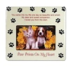 Paw print pet memorial picture photo frame