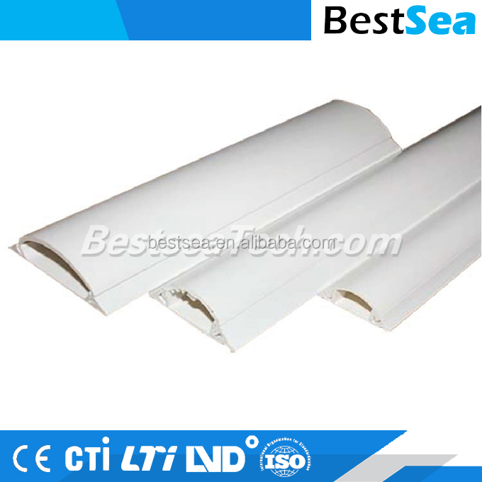Wiring duct white, indoor electrical wire pvc cover