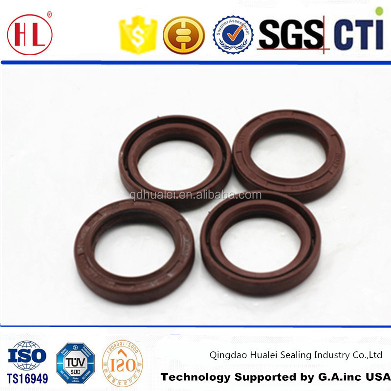 J6 heavy truck high pressure resistance water pump oil seal viton rubber hydraulic pump steering gear oil seal for FAW