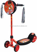 school bag children kick scooter/ kids running bike with brake 5301