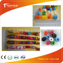 Factory custom disposable RFID control festival wristbands