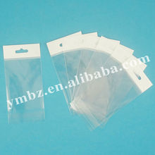 High quality plastic header cards plastic bags