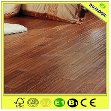 Natural Color Birch Wood Multilayer Engineered Wood Flooring UV Coating
