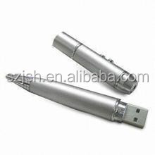 Laser pointer ball pen shaped USB flash drive for promotional gifts Bulk 1GB 2GB 4GB 8GB 16GB 32GB 64GB USB stick 2.0/3.0 for PC