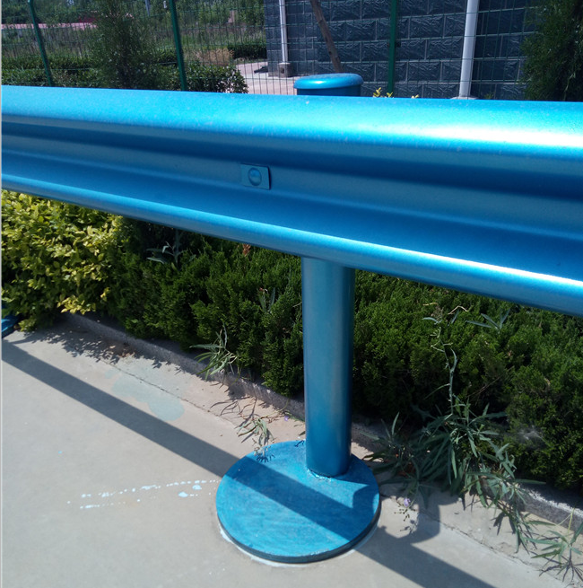 Steel structure standard size w beam Highway Road Safety guardrail