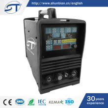 SHUNTE Yueqing Top Selling Products Aluminum Inverter ACDC Mini Electrode Welding Machine Tig200P
