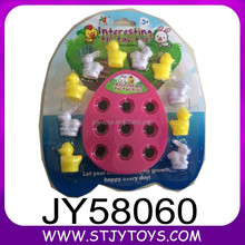 Educational plastic chess game interesting animal tic tac toe for promotion