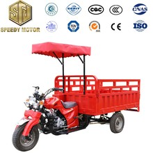 Jiangsu good quality 3 wheels van cargo tricycle cheap sale