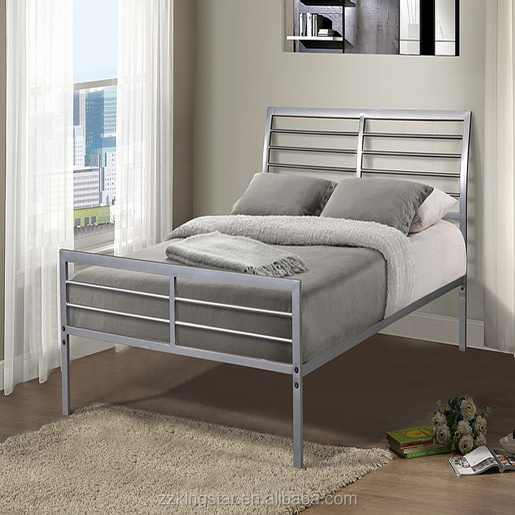 Classical Design Latest Style Single Metal Bedroom Furniture