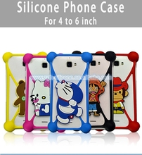 Eco-friendly Silicone Phone Case 5 Inch Mobile Phone Case