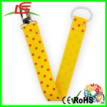 wholesale colorful nipple dropping proof band pacifier clip