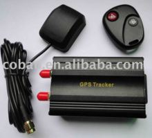 Vehicle GPS tracker with optional accessory for Quiver / shock alarm