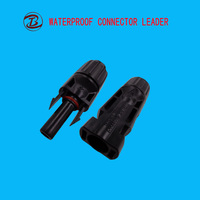 IP67 Solar System DC Waterproof Panel MC4 Cable Connector
