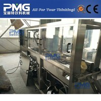 PMG-QGF-120 5 gallon Mineral Water Bottle Filling Machine / automatic line