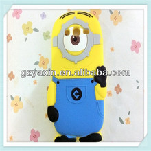 Shockproof case for samsung galaxy s3 mini,minion case for samsung galaxy s3