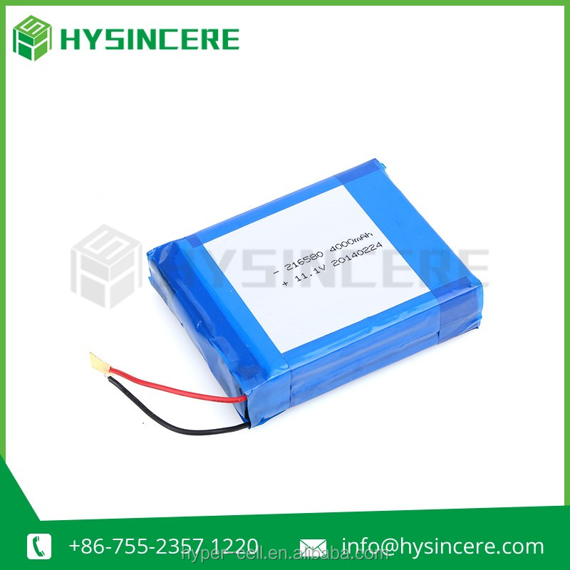 4000mah 3.7V rechargeable li-polymer battery for mobile phone/tablet/pad/GPS