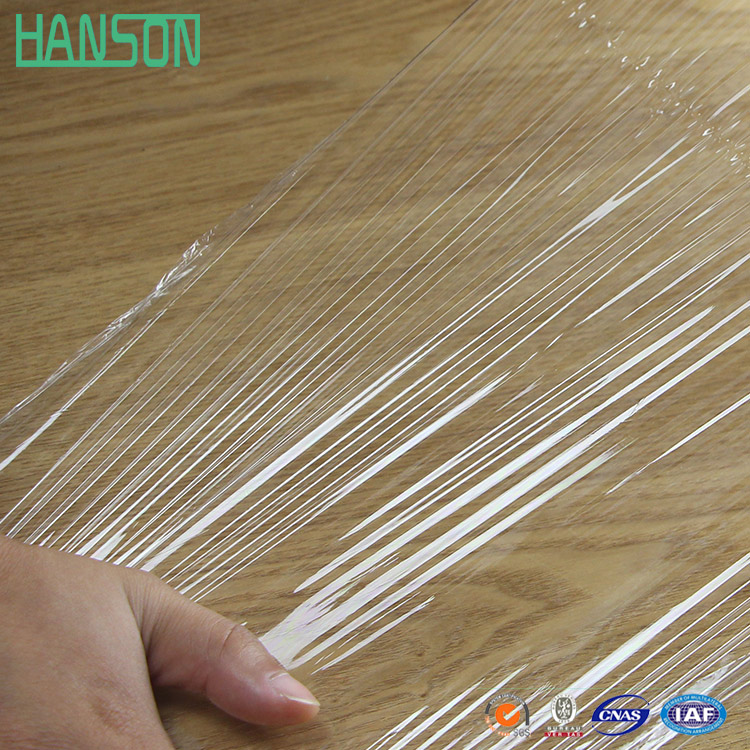 Self-Adhesive Clear Plastic Film Pe Cling Film For Stainless Steel