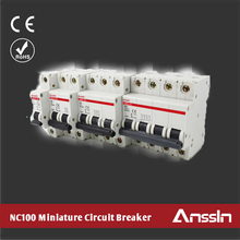 OEM Available Low MOQ 1A-63A 3 Phase Miniature Circuit Breaker