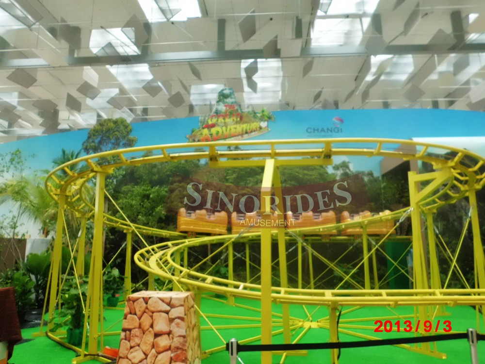 Kids rides attractions for children boomerang roller coaster games