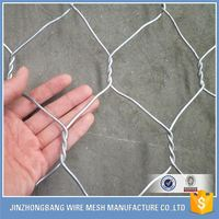 anping hexagonal mesh galvanized gabion box