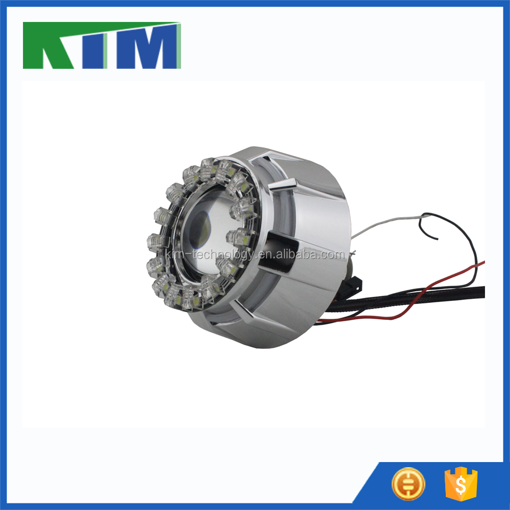 KIM lotus LED lights angel eyes headlights and devil eyes daytime running lights car accessories L99
