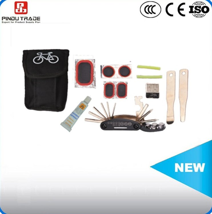 Bicycle parts accessories tyre repair equipment tool kit