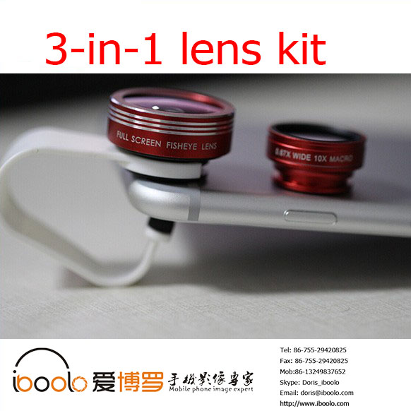 Cheap Price with Good Quality full screen 3 in 1 camera lens for mobile phone