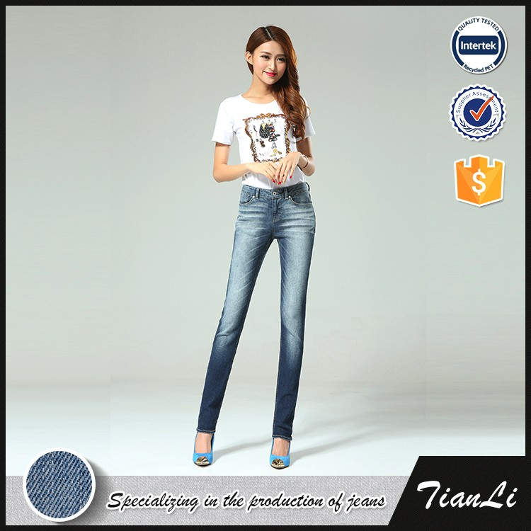 Cotton Fall Girl Denim Jeans Manufacturers