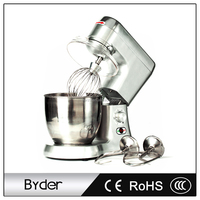 7L 270W Commercial Kitchen Appliance Electric Stand Dough Food Mixer Blender with Tilt Head