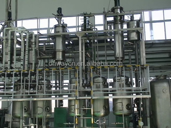 TFE high efficient factory price used motor oil Wiped Film Evaporators