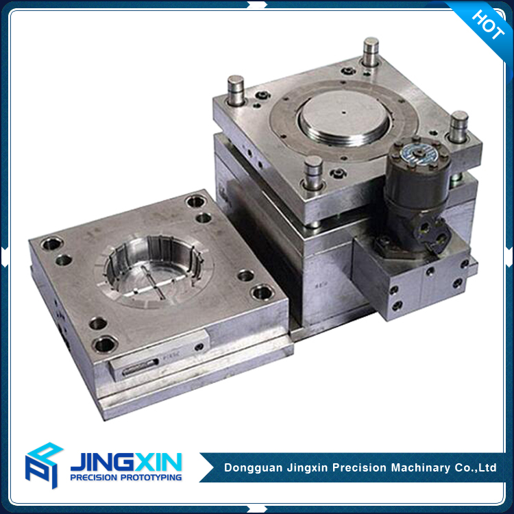 Jingxin Motorcycle Spare Parts Aluminium Profile Cnc Plastic Injection Mould