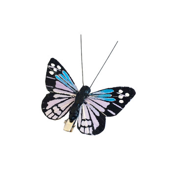 Hand-crafted artificial butterflies for wedding decorations
