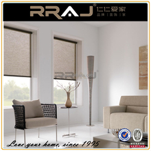 RRAJ Blackout Window Roller Blind with Side Tracks
