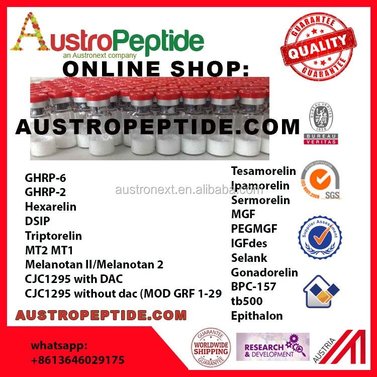 100 vial GHRP6 5mg with free shipping , AUSTROPEPTIDE Wholesale GHRP 6 free delivery