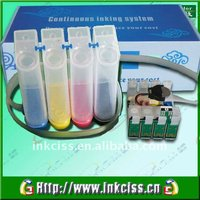CISS refill ink system for Epson Workforce 320/630/633/NX420/TX420W(T1381-T1384)