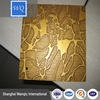 wq high glossy uv mdf manufacturer/uv mdf with wood grain design/uv mdf with wood grain design export to Latvia
