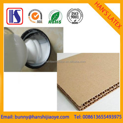 Han's SGS Best quality and Competition price Water-based White latex glue for corrugated