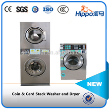 Professional coin operated laundry washing machine factory