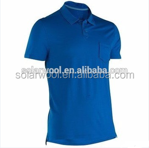 Promotional Uniform Polo Shirt With 100% merin wool